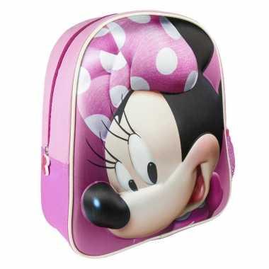 Disney minnie mouse schooltas/rugzak peuters/kleuters/kinderen