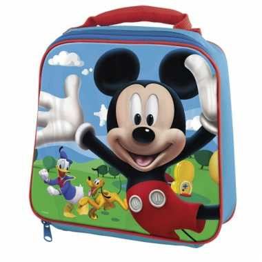 Mickey mouse thermo schooltasje kind