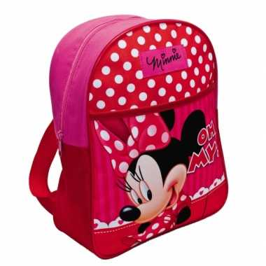 Minnie mouse schooltas kind