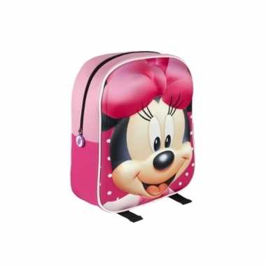 Minnie mouse schooltasje d kinderen