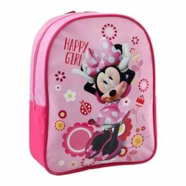 Minnie mouse schooltasje kinderen