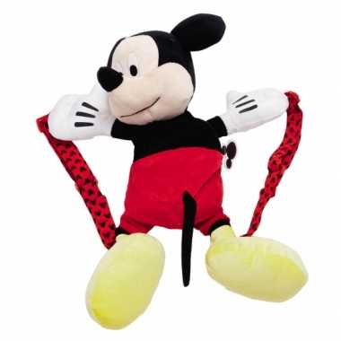 Pluche Mickey Mouse schooltas kind