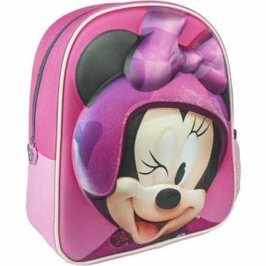 Roze minnie mouse schooltas/rugzak meisjes kind