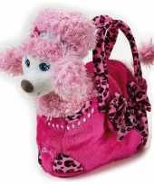 Barbie tas roze poedel schooltas kind