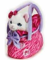 Barbie tas witte poes schooltas kind