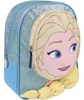 Blauwe frozen schooltas rugzak elsa meisjes kind