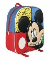 Mickey mouse schooltasje d kinderen
