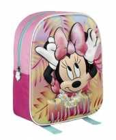 Minnie mouse schooltasje d gekleurd kinderen