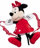 Pluche minnie mouse schooltas kind