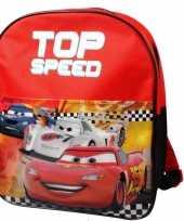 Rode disney cars schooltas kind