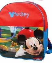 Rode disney mickey mouse schooltas kind