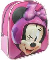 Roze minnie mouse schooltas rugzak meisjes kind